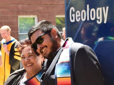 nau geology student