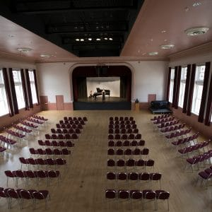 ashurst hall recital hall on campus at nau in flagstaff