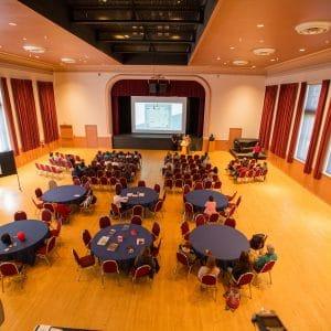 ashurst hall on campus at nau in flagstaff