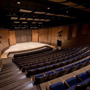kitt recital hall at northern arizona univeristy in flagstaff