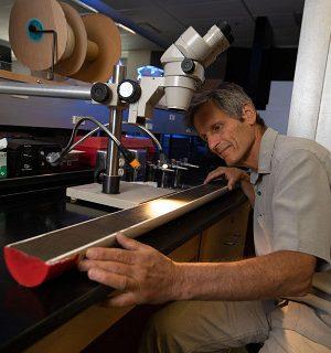 Darrell Kaufman in lab