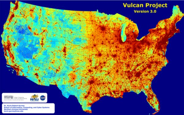 Vulcan Project map