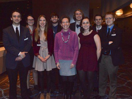 NAU students at McGill University McMUN