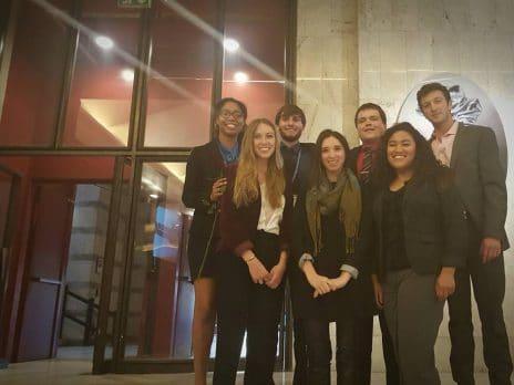 NAU students at World MUN