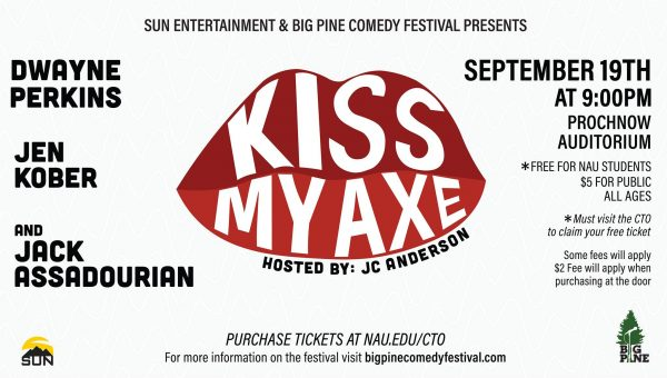 Kiss my axe poster