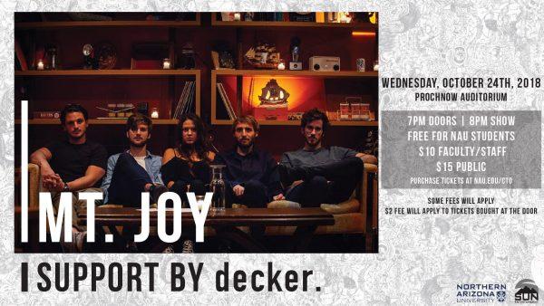 MT. JOY poster